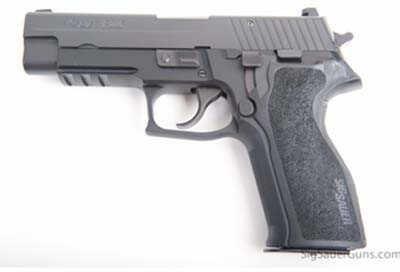 "Pistol Sig Sauer P226 9mm Luger 4.4"" Black ACC Rail SRT 15 Round E26R9BSSSRT"