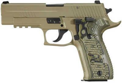 Sig Sauer P226 9mm Luger Scorpion DRK Earth Hogue Grip SRT Pistol E26R9SCPN
