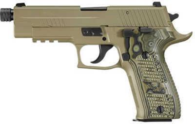 Sig Sauer P226 9mm Luger Scorpion DRK Earth Thrd Barrel Hogue Pistol E26R9SCPNTB