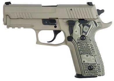 Sig Sauer P229 40 S&W Scorpion Dark Earth SRT Short Reset Trigger Hogue Grip Semi-Automatic Pistol E29R40SCPN
