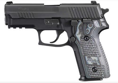 Pistol Sig Sauer P229 9mm Luger Extreme Black Nitron SRT Hogue G10 E29R9XTMBLKGRY