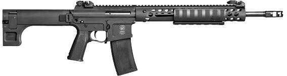 "Troy Defense Troy PAR Pump Action Rifle 300 AAC Blackout 16"" Black Folding 1:7 Flip Up Front and Rear Sights 10 Round SPAR-S3A-18BT-00"