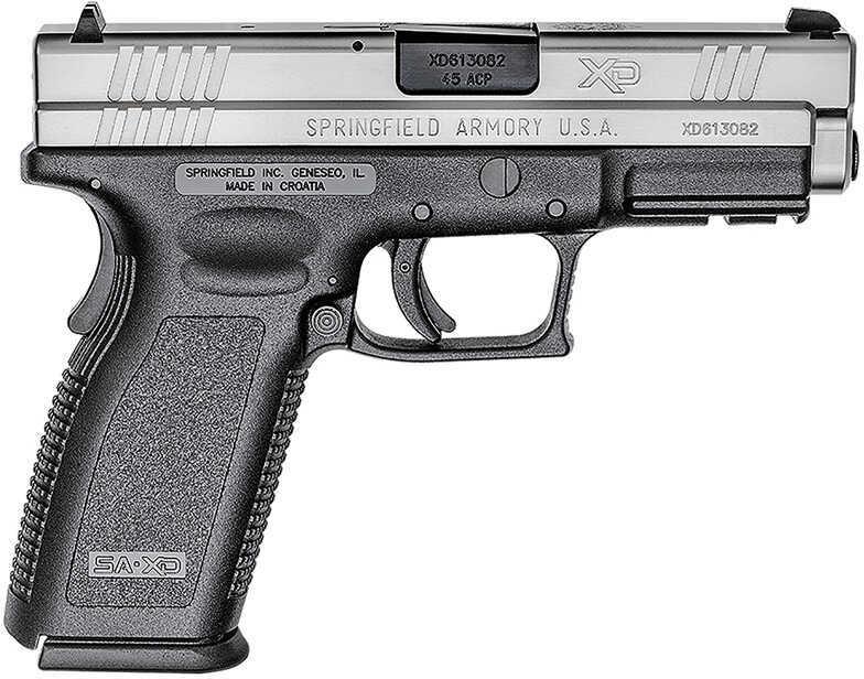 """Springfield Armory Springfield XD Full Size Semi Auto Pistol .45 ACP 4"""" Barrel 13 Rounds Duo Tone XD9613HC"""