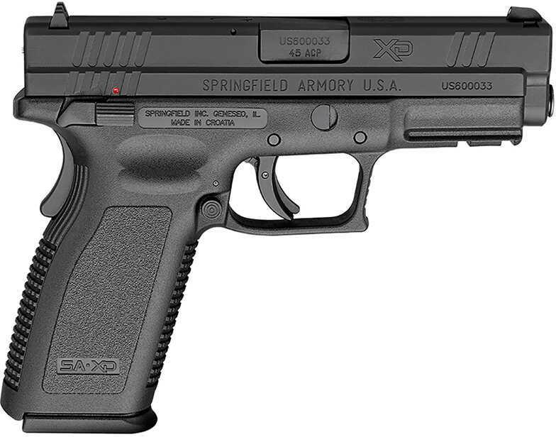 "Springfield Armor XD 45ACP 4"" Barrel 13+1 Rounds Thumb Safety Black Finish Full Size Double Action Semi Automatic Pistol XD9661HC"