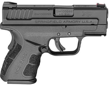 "Springfield Armory Springfield XD Mod 2 Sub-Compact 40 S&W 3"" Barrel 9/12 Round Black Semi Automatic Pistol XDG9802HCSP"