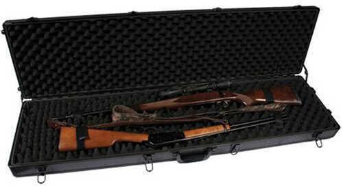 SportLock Alum Dbl Rifle;W/Wheels Black 00010