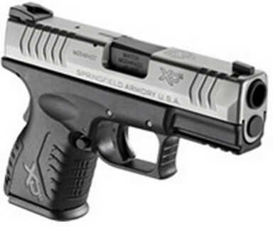 "Springfield Armory XDM 45 ACP 3.8"" Barrel Duo-Tone 10 Round Semi Automatic Pistol XDM93845CS"
