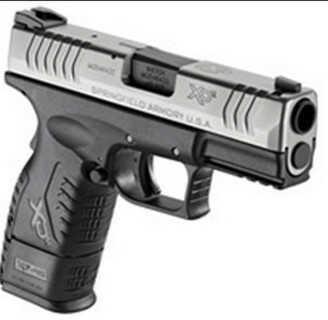 "Springfield Armory XDM 45 ACP 3.8"" Barrel Duo-Tone Hi Capacity Mag Semi Automatic Pistol XDM93845CSHC"