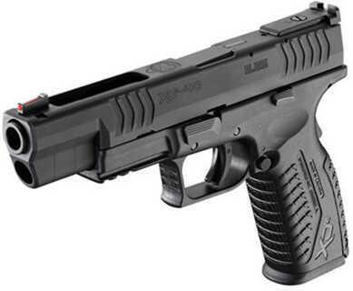"Springfield Armory XDM 40 S&W 5.25"" Barrel Black Frame Competition Semi Automatic Pistol XDM95254BHC"