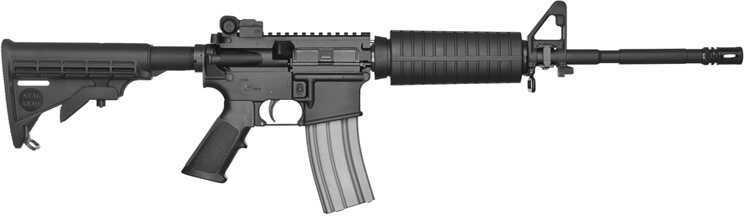 "Stag Arms Model 2 223 Remington/5.56mm NATO 16"" Barrel 30+1 Rounds 6-Position Black Stock Semi-Automatic Rifle SA2"