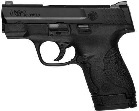 "Smith & Wesson M&P Shield 40 S&W 3.1"" Barrel Black Polymer Grip 7 Round Semi-Automatic Pistol MA Legal 10036"
