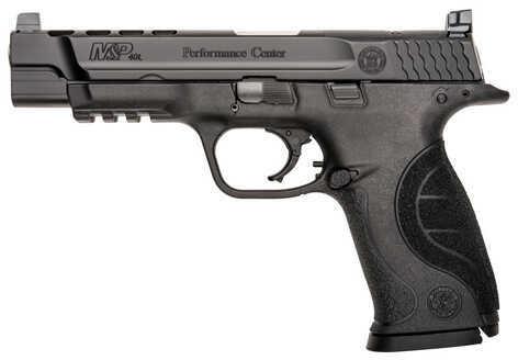 "Smith & Wesson M&P Performance Center 40 S&W 5"" Barrel 15 Round Black Finish Semi Automatic Pistol 10100"