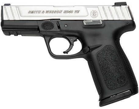 "Smith & Wesson SD40VE 40 S&W 4"" Barrel 10 Round Black Polymer Semi Automatic Pistol MA Legal 123402"