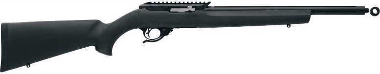 "Tactical Solutions 22 Long Rifle 16.5"" Barrel  Quicksand/Black Hog  Semi-Auto Rifle   RGRTE14HBLK"