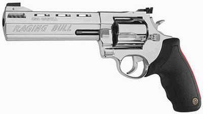 "Taurus 454 Raging Bull 454 Casull 6"" Barrel 5 Round Stainless Steel Refurbished Revolver Z2454069M"