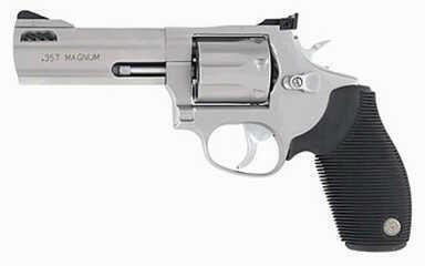 """Taurus 627 357 Magnum 4"""" Barrel 7 Round Stainless Steel Refurbished Revolver Z2627049"""