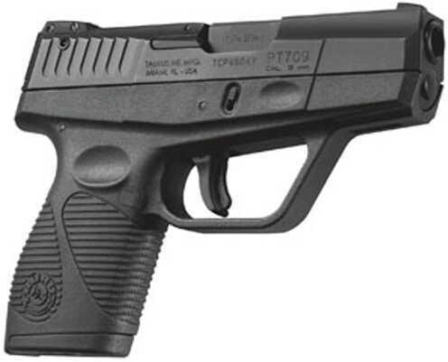 "Taurus 709 Slim 9mm Luger 3.2"" Barrel 7 Round Polymer Blued Blemished Semi Automatic Pistol Z1709031"