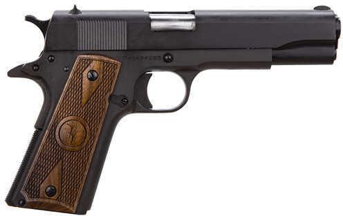 "Taylor's & Company 1911 Standard 45 ACP 5"" Barrel 7 Round Walnut Grip 2 Tone Finish Semi-Auto Pistol 1911WD"