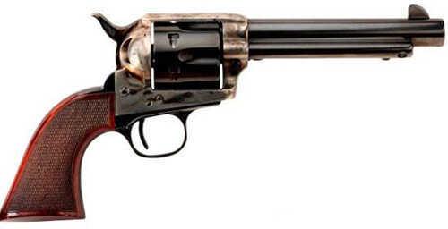 "Taylor's & Company The Smoke Wagon 45 Colt 4.75"" Barrel 6 Round Case Hardened Revolver 4109"