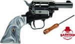 "Heritage Barkeep Revolver 22LR 3"" Barrel 6rd Capacity Black Oxide Steel Gray Pearl Grip Finish    BrandHeritage Mfg  CategoryRimfire Revolvers  Caliber22 LR  ModelBarkeep  ActionSAO  Barrel Lengt..."
