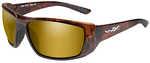 Wiley X WX Kobe Sunglasses Gloss Hickory Brown Frame, Polarized Venice Gold Mirror LensWiley X WX Kobe Sunglasses, Gloss Hickory Brown Frame, Polarized Venice Gold Mirror Lens    Features:    - Lightw...