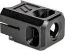 "ZEV Comp-Pro-V2-5G-B V2 Pro Compensator 9mm 1/2""-28 tpi Black Hardcoat Anodized Aluminum For Glock 19The ZEV V2 Pro Compensator Was Designed To Enhance The Performance Of Your Glock Pistol By Reducing..."