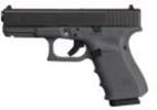 GLOCK Semi-Auto Pistol G19 G4 GRAY 9MM 15+1 4.0 FS 3-15RD MAGS   ACCESSORY RAIL 9mm Barrel 4
