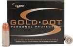 CCI/Speer Speer Gold Dot 9MM 115 Grain Hollow Point 20 Round Box 23614