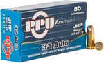 Prvi Partizan PPU Defense .32 ACP Ammunition 50 Rounds 71 Grain JHP 967fps