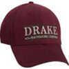 DRAKE GAMEDAY SERIES CAP GARNET/GRYDRAKE GAMEDAY SERIES CAP GARNET/GRYManufacturer: DRAKE OUTDOORSModel: DH2911-GAG