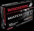 Winchester Ammunition USA 6.5 Creedmoor 125 Grain Full Metal Jacket Open Tip 20 Round Box USA65CM