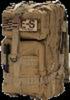 Echo-Sigma Emergency Bug Out Bag Coyote    Hydration Bladder Drinking System (2.5 Liter)  -SOG S62 Power Lock Stainless Multi-Tool w/18 tools  -Suisse Sport McKinley 0F-5F Mummy Sleeping Bag    -Echo-...