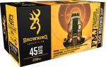 Browning Ammo B191800454 Training & Practice 45 Automatic Colt Pistol ( ACP ) 230 Gr Full Metal Jacket 100 Box