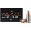 Speer Ammo Gold Dot 9MM Luger 124Gr. GDHP 20-PackCaliber: 9MM Luger (9X19,9MM PARABELUM) Bullet Type: Hollow Point Bullet Weight In GRAINS: 124 GRAINS Cartridges Per Box: 20 Boxes Per Case: 10 RELOADA...