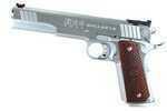 The MAC 1911 Bullseye is a 45 ACP single action with barrel length of 6