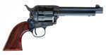 """Cimarron Evil Roy Comp 1873 SAA Revolver 5.5"""" Barrel .357 Magnum Case Hardened Walnut Checkered Grip Standard Blue ER4104    Specifications:    - Caliber: 357 Magnum  - Barrel Length: 5.5""""  - Frame: C..."""