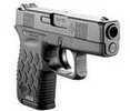 Specifications:    - Caliber: 9mm  - Slide Finish: Black Stainless Steel  - Frame: Black Polymer  - Barrel Length: 3