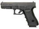 "Glock G17 Gen3 Pistol 9mm Luger 4.48"" Barrel 17 Round Black Steel Slide Black Polymer Grip    Designed for professionals, the Glock G17 is the most widely used law enforcement pistol worldwide. It is ..."