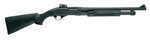 This 12-gauge pump action shotgun has an 18.5