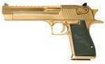 """MR DESERT EAGLE 50AE 6"""" TITANIUM GOLD"""