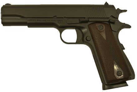 "Girsan 1911 Government 45ACP 5"" Barrel 8 Round Wood Grip Black Finish Semi Automatic Pistol MC1911-G2"
