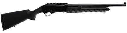 "Linberta 12 Gauge 18.5"" Barrel 5 Round Black Synthetic Stock Pump Action Shotgun PA101"