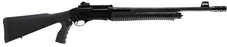 "Linberta Tactical 12 Gauge 18.5"" Barrel 3"" Chamber 5 Round Synthetic Stock Pistol Grip Matte Black Pump Action Shotgun PA101TAC"