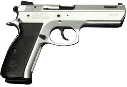 "Century Arms CaNikon 55 Shark-FC 9mm Luger 4.73"" Barrel 15 Round Chrome Ported Semi Automatic Pistol SHARKFCC"