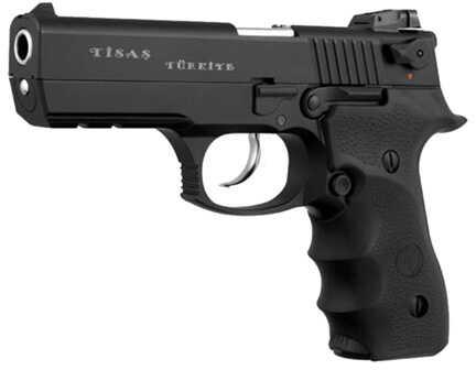 "Trabzon Gun Industry Corporation Trabzon Gun Industry Corp. Tisas Zigana F 9mm Luger 4.6"" Barrel 15 Round Black Tactical Rail Semi Automatic Pistol ZIGFBL"