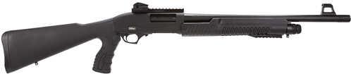 "TriStar Cobra Force 12 Gauge 20"" Barrel 3"" Chamber 5 Round Ghost Ring Sights Pistol Grip Stock Black Pump Action Shotgun 23117"