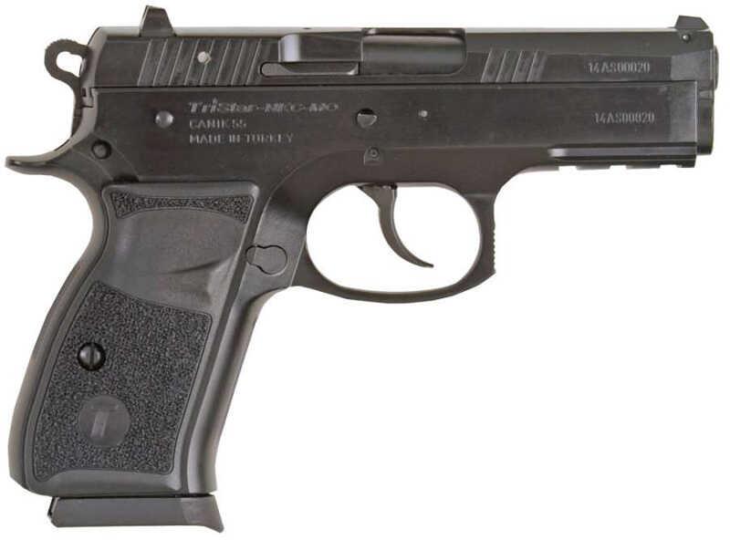 "TriStar P-100 Semi-Auto Pistol 9mm Luger Black Cerakote Finish 3.7"" Barrel 15 Rounds 85085"