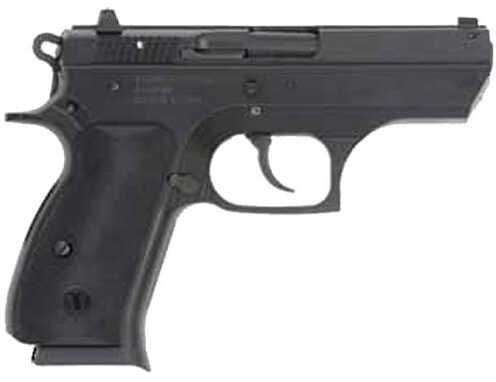 "TriStar T-100 9mm Luger 3.7"" Barrel 10 Round Steel Alloy Frame Black Cerakote Semi Automatic Pistol 85105"
