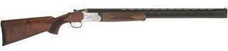 """TriStar Upland Hunter Over/Under 12 Gauge Shotgun 28"""" Barrel Silver Engraved Receiver With 5 Chokes"""