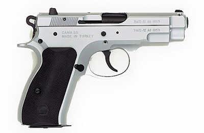 """Pistol TriStar TSA C100 9mm Luger 3.9"""" Chrome 2 13Rd 85029"""